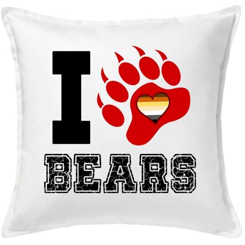 COJIN I LOVE BEARS