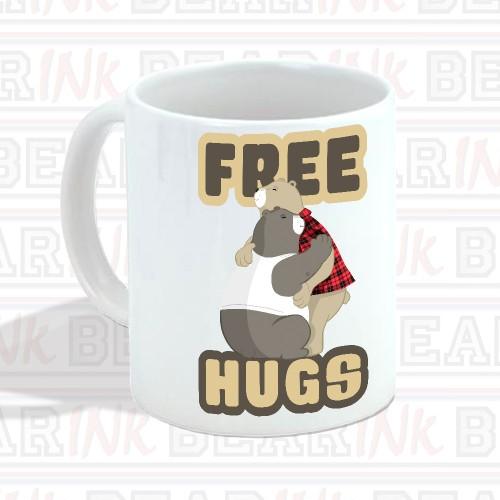 TAZA FREE HUGS
