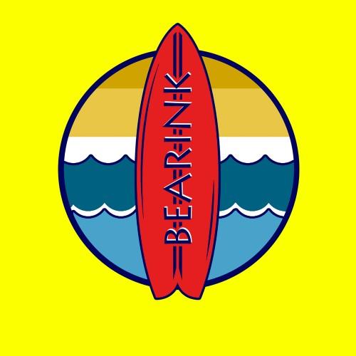 CAMISETA  TIRANTES TABLA SURF BEARINK