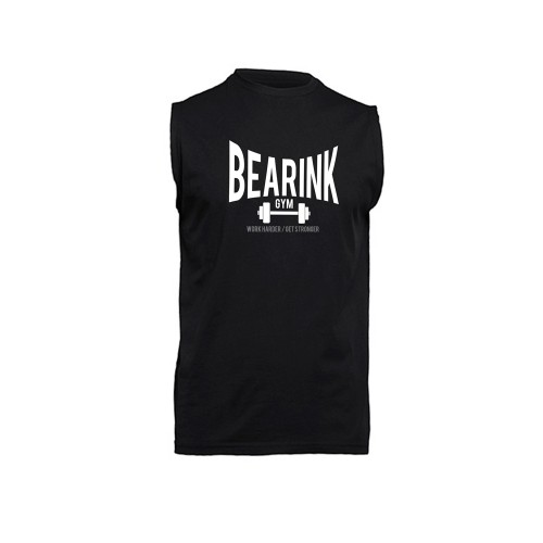 CAMISETA SIN MANGA BEARINK GYM